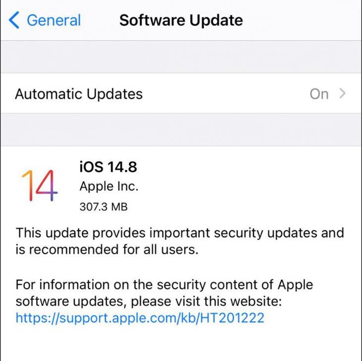 Apple khẩn cấp tung bản cập nhật phần mềm iPhone bịt lỗ hổng bảo mật - 2 20