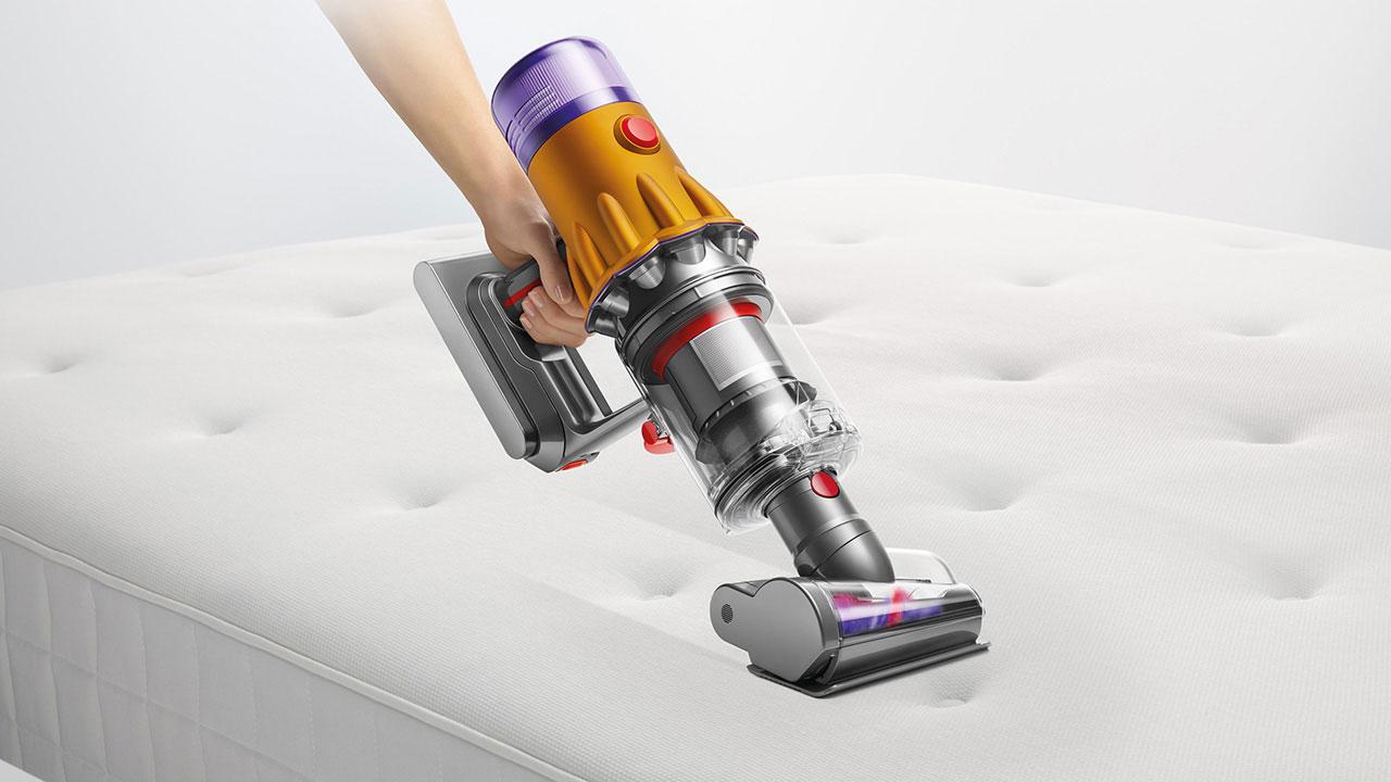 Dyson ra mắt máy hút bụi cầm tay tích hợp đèn laser phát hiện bụi mịn - Dyson V12 Detect Slim 620D CMYK for online use 110