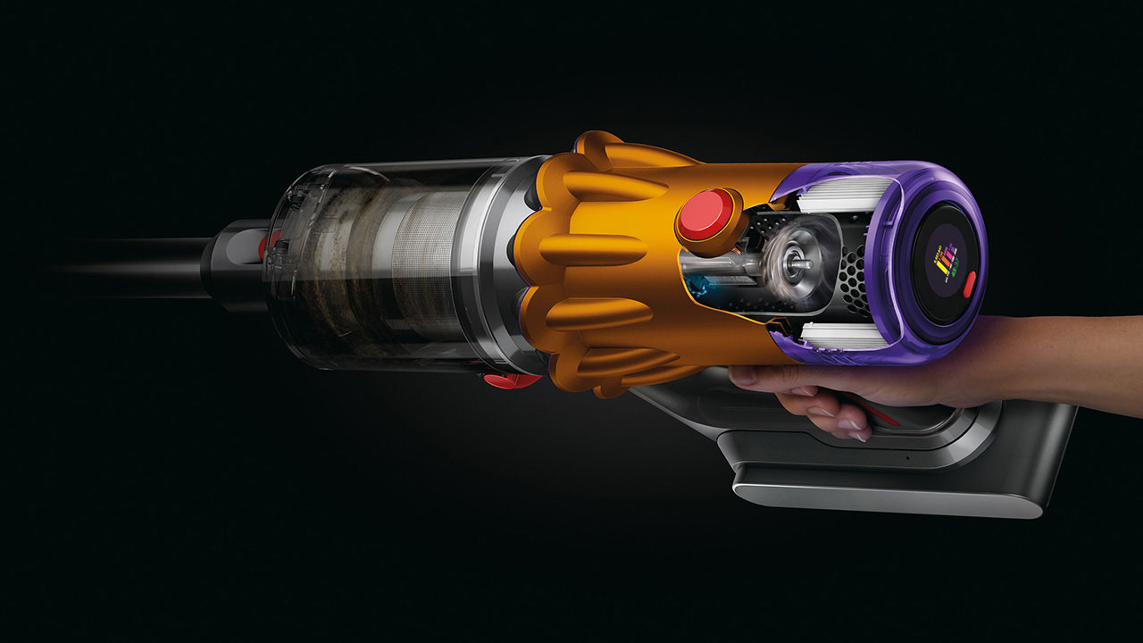 Dyson ra mắt máy hút bụi cầm tay tích hợp đèn laser phát hiện bụi mịn - Dyson V12 Detect Slim 620D CMYK for online use 99