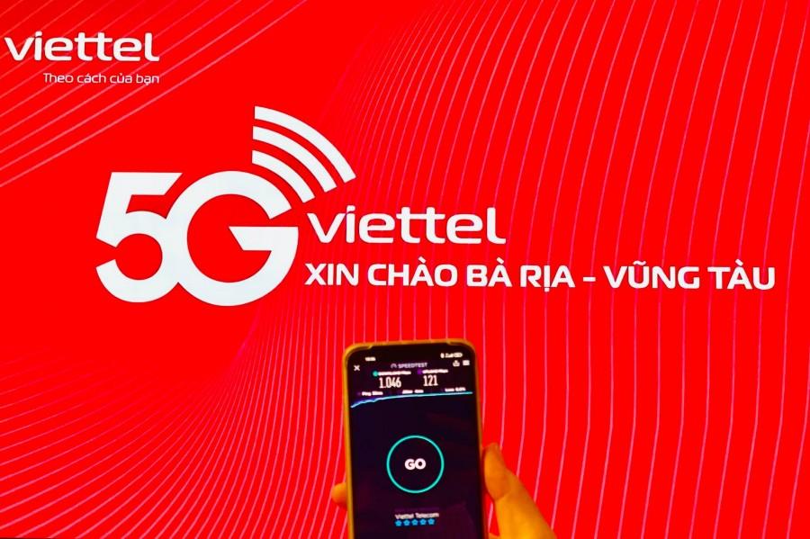 Mạng 5G Viettel đã có mặt tại Bà Rịa - Vũng Tàu - Speed Test