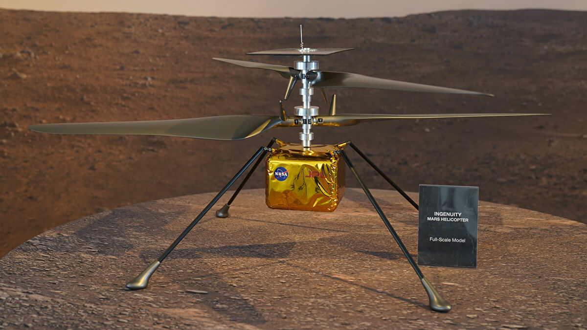 Nguyên mẫu máy bay trực thăng thăm dò Sao Hỏa của Trung Quốc sao chép từ NASA - Trung Quoc