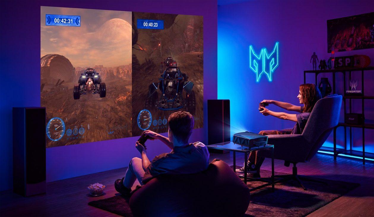 Acer mở rộng danh mục gaming với PC Predator Orion 7000, máy chiếu 4K và bàn game thủ - PREDATOR GD711 Lifestyel 02