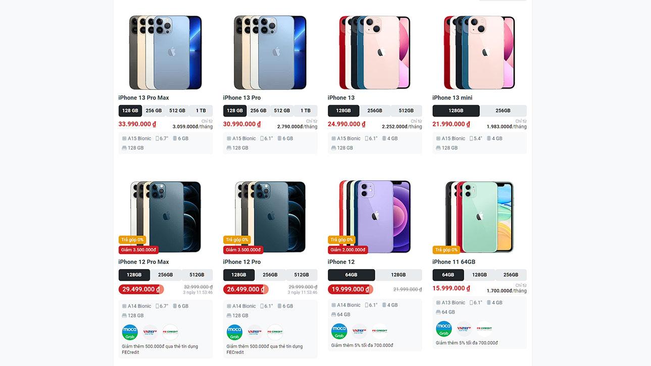 iPhone 13 sắp về, iPhone 12 giảm còn từ 15 triệu đồng - iPhone 12