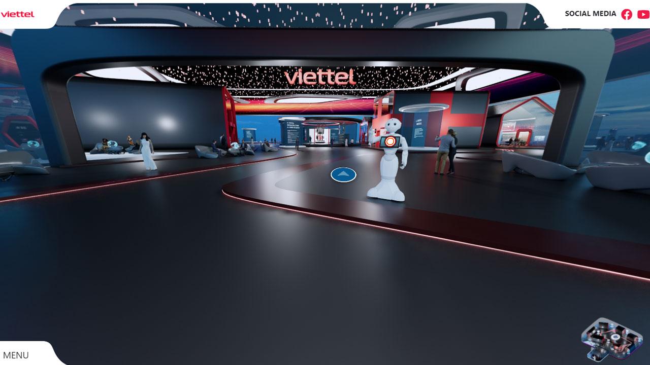 Tham quan triển lãm trực tuyến thú vị không so với mô hình truyền thống? - trienlamITU2021 Viettel